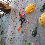 Private indoor climbing course in Grenoble