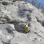 Climbing discovery day around Grenoble (Vercors, Chartreuse)