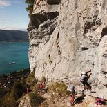 Rock climbing and yoga in Annecy (Haute-Savoie)