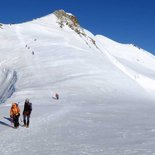 Mountaineering course: preparation for major outings