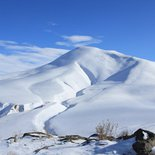 Snowshoeing or ski touring and yoga in Armenia