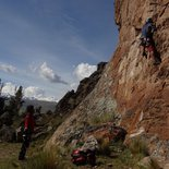 Climbing and archaeological trek in Peñas