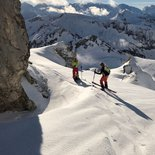 Ski touring trip in the Eastern Oberland