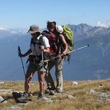 Conscious and Afghan walks discovery in Haute-Savoie