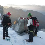Mountaineering course in the Mont Blanc massif