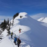 Ski touring in Belledonne Massif (Savoy)