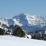 Snowshoeing escape weekend in Vercors