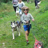 Cani hike for kids from April to December in Belledonne Massif (Isère)