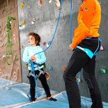 Discovery of indoor climbing, for adults or children (Grenoble)