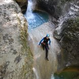 Grenant canyon (Chartreuse, Savoie)