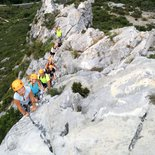 """La Pichona"" discovery via ferrata in Saint-Paul-de-Fenouillet"
