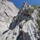 Rock climbing day around Annecy (Haute-Savoie)