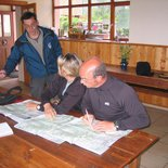 Orientation course: improvement (Savoie, Bauges Massif)