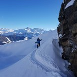 Ski touring in Piedmont