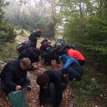 Wild cooking course in the Vercors Massif