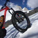 Electric fatbike discovery in Corrençon (Vercors, Isère)