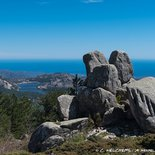 Hiking to Ospedale in Southern Corsica