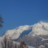 Snowshoeing and photo weekend in the Mont Blanc region
