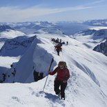 Ski touring & sailing from Bodo Alps to Lofoten and Senja