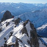 Mixed mountaineering course in the Mont Blanc Massif