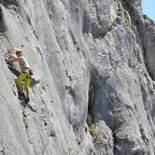 Rock climbing: initiation and autonomy course (Grenoble, Chartreuse, Vercors, Oisans)