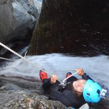 Sports canyoning in the Gourg des Anelles (Eastern Pyrénées)