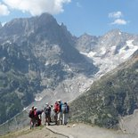 Trekking tour around Mont Blanc