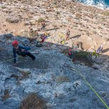 Rock climbing stay for beginner in Kalymnos