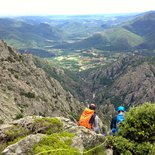 """Trad climbing"" course in the Caroux Massif"