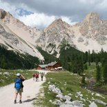 Trekking on the balconies of the Dolomites di Brenta