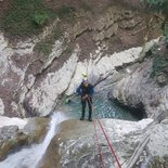 Canyoning in the Aravis and around Annecy lake (Haute-Savoie)