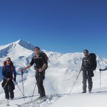 """First steps to ski touring"" course (Vercors, Dévoluy)"