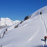 Off-piste skiing and ski touring weekend in Aravis Massif (Haute-Savoie)