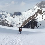 Snowshoe ride in Écrins: from illusion to reality (Hautes-Alpes)