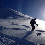 Monday ski touring outing in Upper Savoy