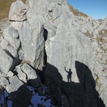 Climbing course around Briançon (Hautes-Alpes)