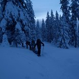 Snowshoeing and igloo evening in Les Saisies (Savoie)