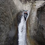 Canyoning in the Gorges du Llech (Eastern Pyrénées)