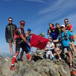 High altitude running course (Font-Romeu, Pyrenees)