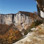 Hiking and dizzy bivouac in Vercors