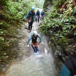 Canyoning : canyon du Rio Sourd (Die, Drôme)